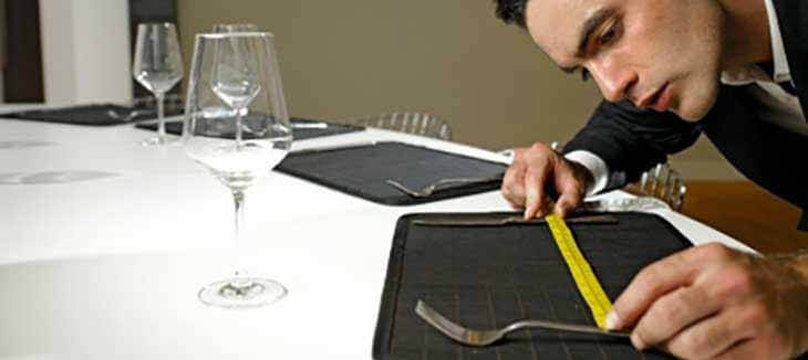 measuring for correct table setting