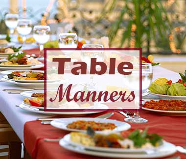 Table Manners Guide
