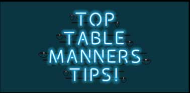 Etiquette Scholar Welcomes You To Enjoy The Best Table Manners How Lists
