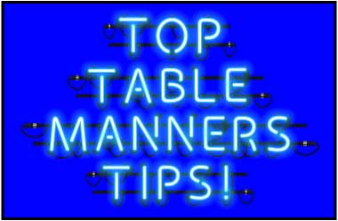 bad table manners examples
