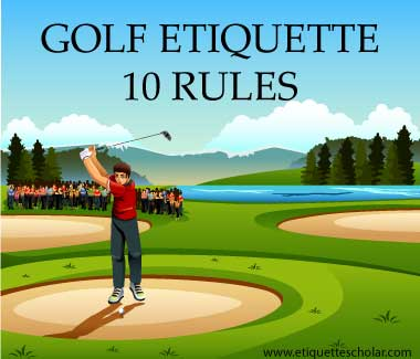 10 Important Golf Etiquette Rules